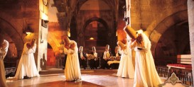Whirling Dervishes Ceramony at Historical Carevanserai